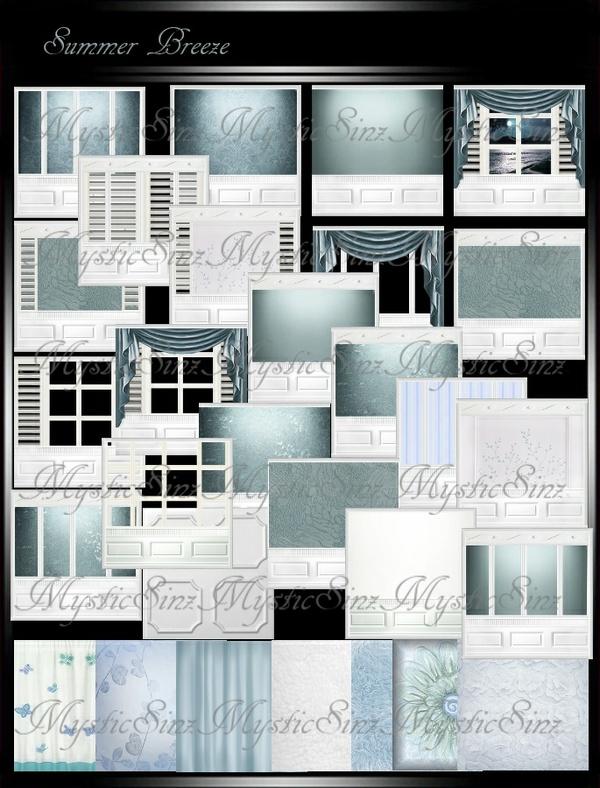 IMVU Textures Summer Breeze Room Collection