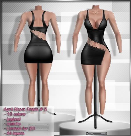 2014 Apr Short Dress # 5