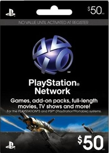 Sony PSN Gift Card Digital Code!