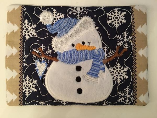 NNC ITH Snowman Mugrug