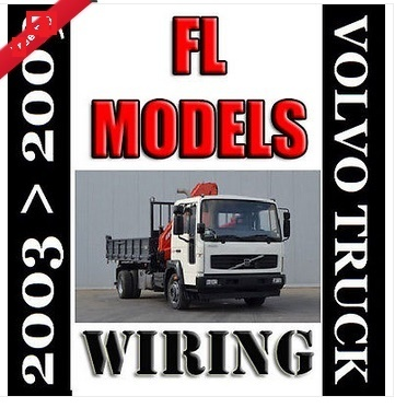 2003  2009 FL 4x2 6x2 VOLVO TRUCK EURO 4 WIRING ELECTRIC DIAGRAM SERVICE MANUAL
