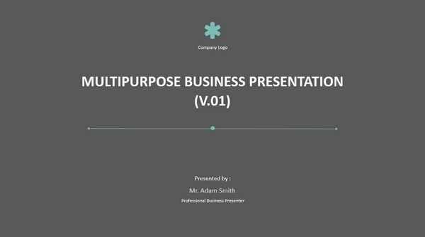 [Animated] Multi-Purpose Presentation Template