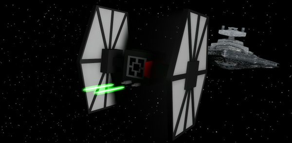 Tie Fighter Model by T5UB4SA