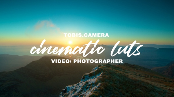 LUT PACK 10 Cinematic LUTs by Tobis.Camera