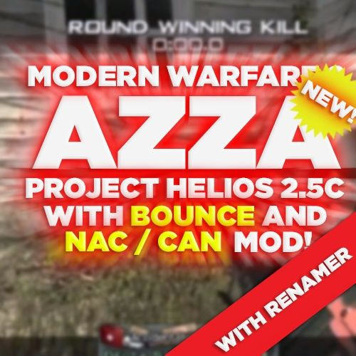 (PS3/MW2) Project Helios v2.5c NAC + BOUNCE MOD & RENAMER - Azza, Blue Teammates, +550