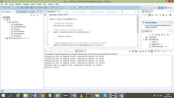 CS 520 Week 6 assignment