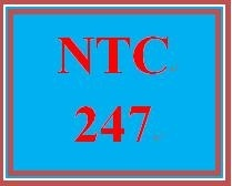 NTC 247 Week 2 Individual: Week Two Quiz