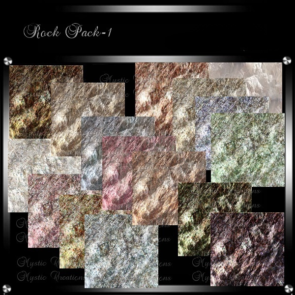 IMVU Textures Rock Pack 1