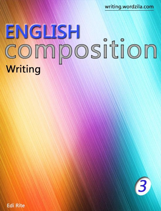 Writing composition book 3