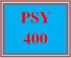 PSY 400 Week 5 Conflict Resolution Program