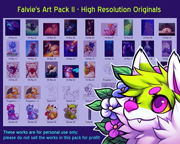 Falvie's Art Pack II
