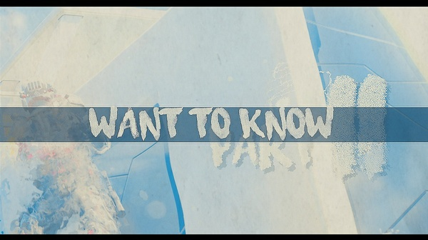 Want To Know (Ft. InFa Cams 20)