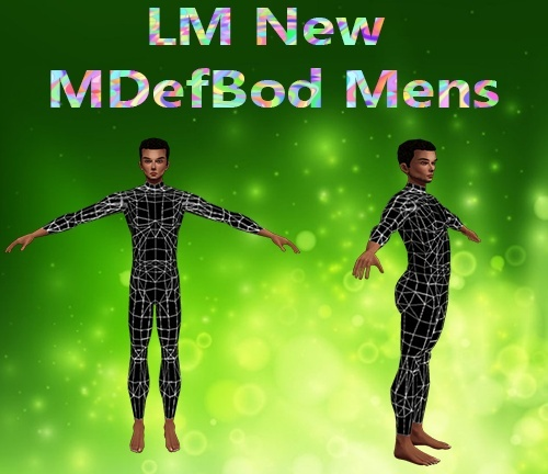 New Default Body Male Mesh Catty Only!!!