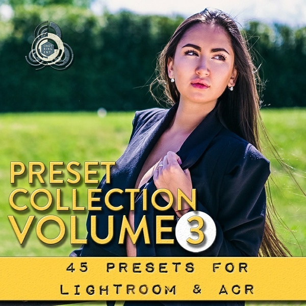 PRESET COLLECTION VOLUME 3 The Crazy Ring Preset - For Lightroom and Camera Raw