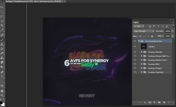 Logos Avi's Templates Synergy