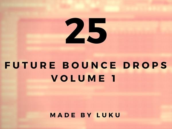 25 FUTURE BOUNCE DROPS [Midi-Pack by Luku]