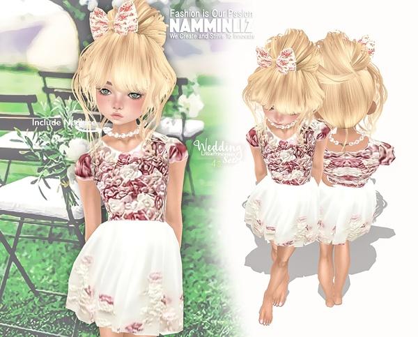 Wedding Little princesses set 2  Dress