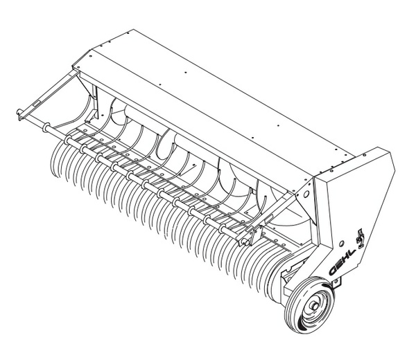 GEHL HA1210 Hay Attachment Parts Manual