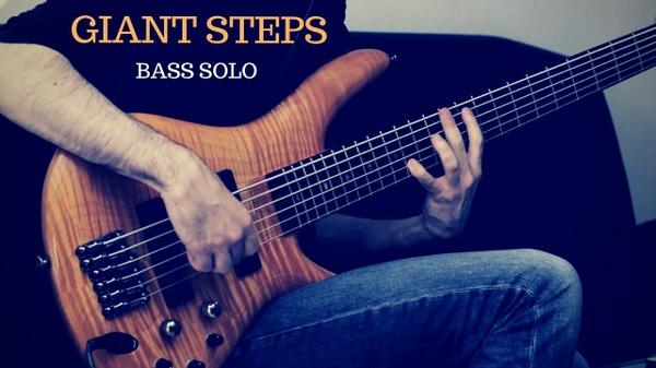 Coltrane - Giant Steps Bass Solo