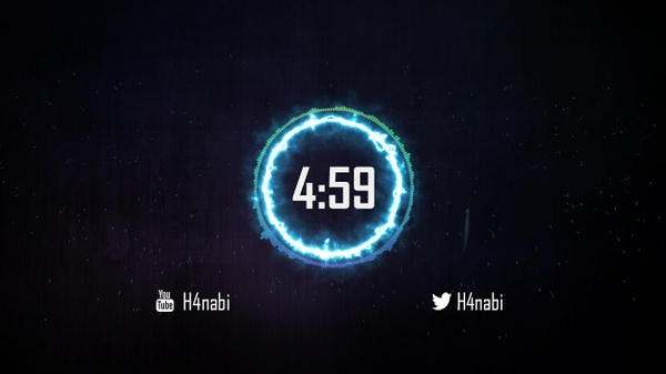 Twitch stream Waiting Screen Countdown : Thunderbolt (1080 p HD Video)
