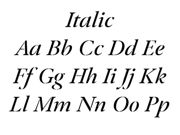 Klod AM Italic