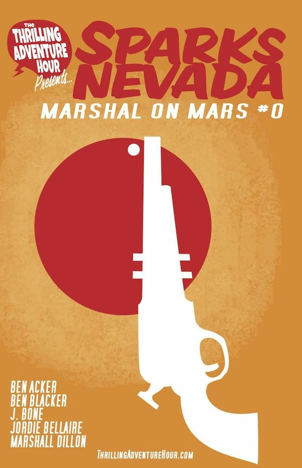 Sparks Nevada: Marshal on Mars Issue #0