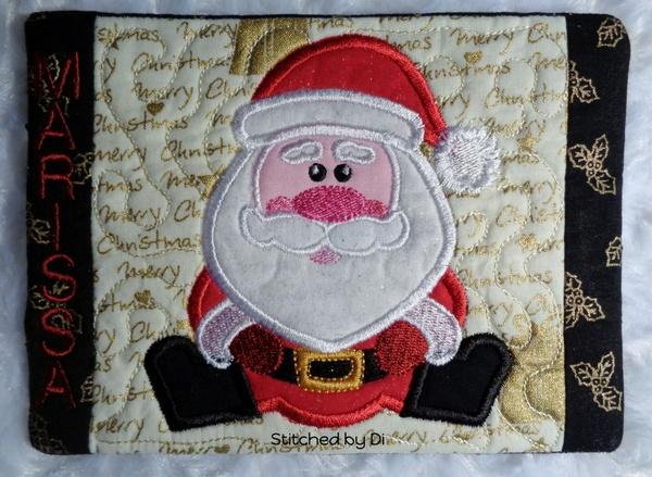 NNC ITH Santa Mug Rug