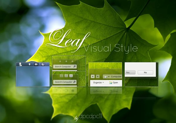 Leaf - Windows 7 Theme