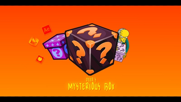 Myterious Box Giveaway