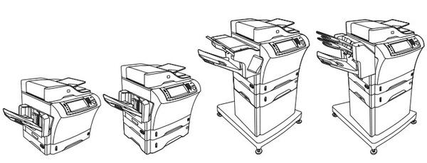 HP LaserJet M4345 MFP Series Service Repair Manual