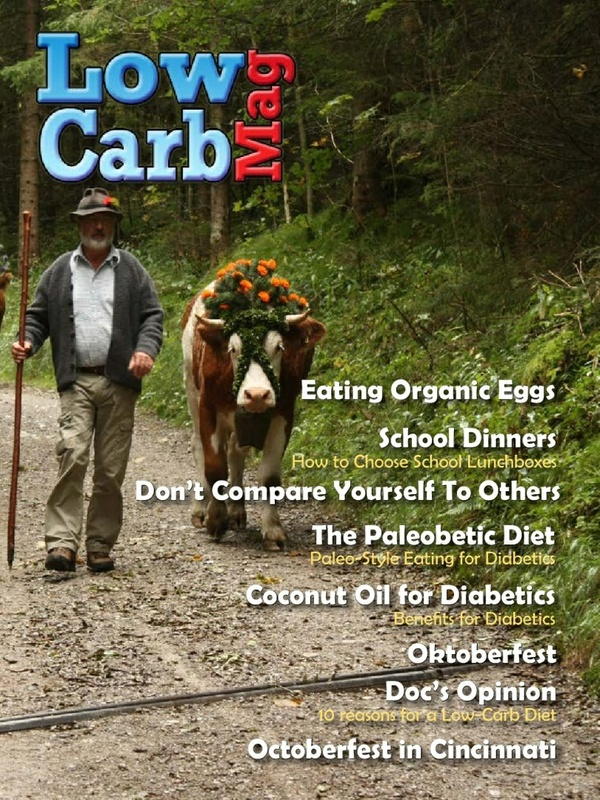 Low Carb Mag September 2013 - The Worlds Most Loved Low Carb Magazine