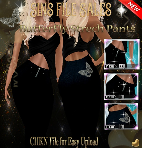Butterfly Stretch Pant (CHKN File)
