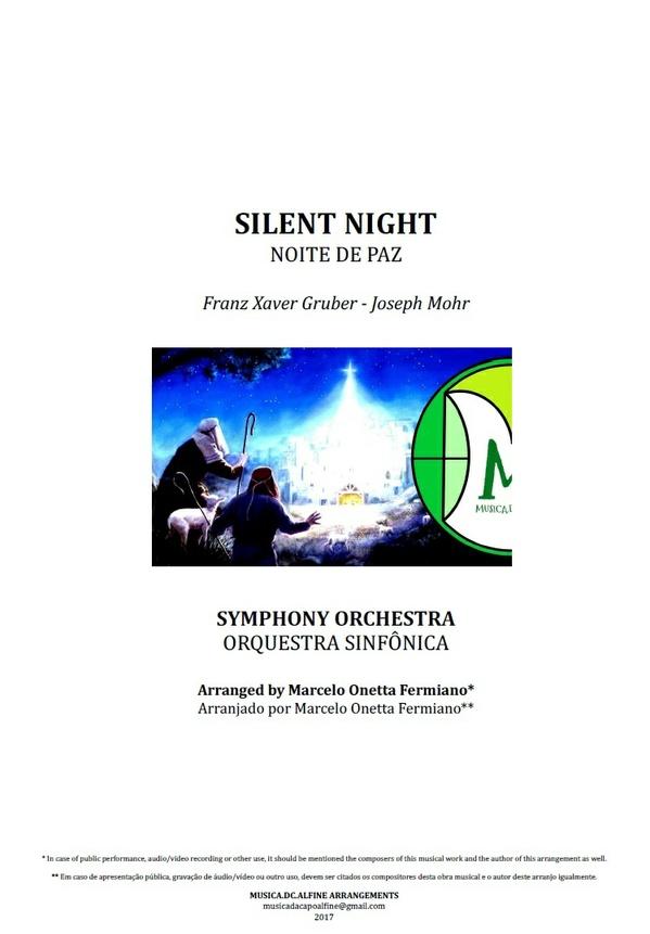 Noite de Paz | Noite Feliz | Orquestra Sinfônica | Grade e Partes