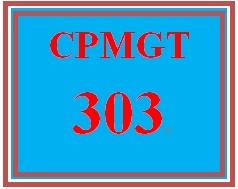 CPMGT 303 Week 2 Microsoft® Project Painting Exercise and Executive Summary