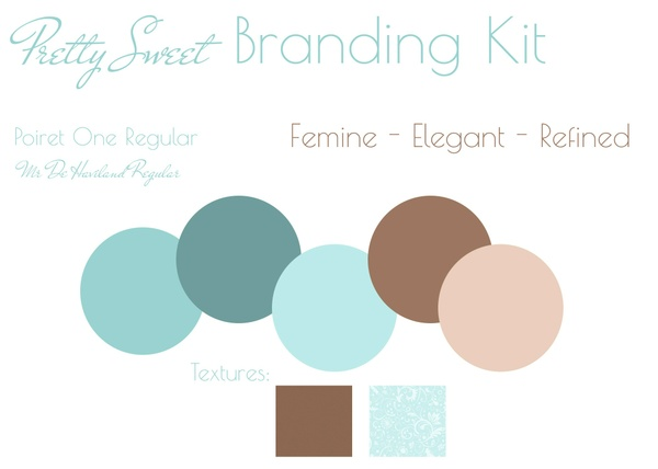 Pretty Sweet Pre-made Branding Kit