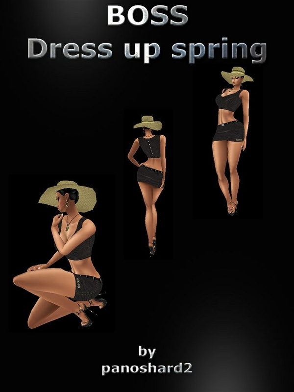 BOSS OUTFIT DRESS  (sale textures dress format jpg)