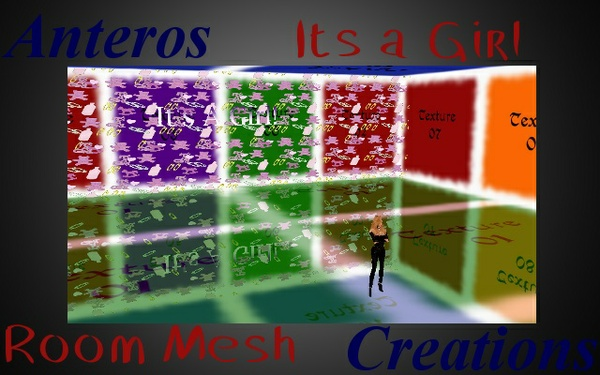 Room Mesh -- Its a Girl!!