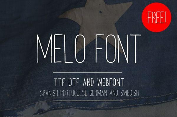 MELO FONT