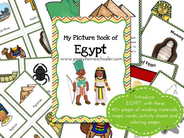 EGYPT:  Picture Book and Cards