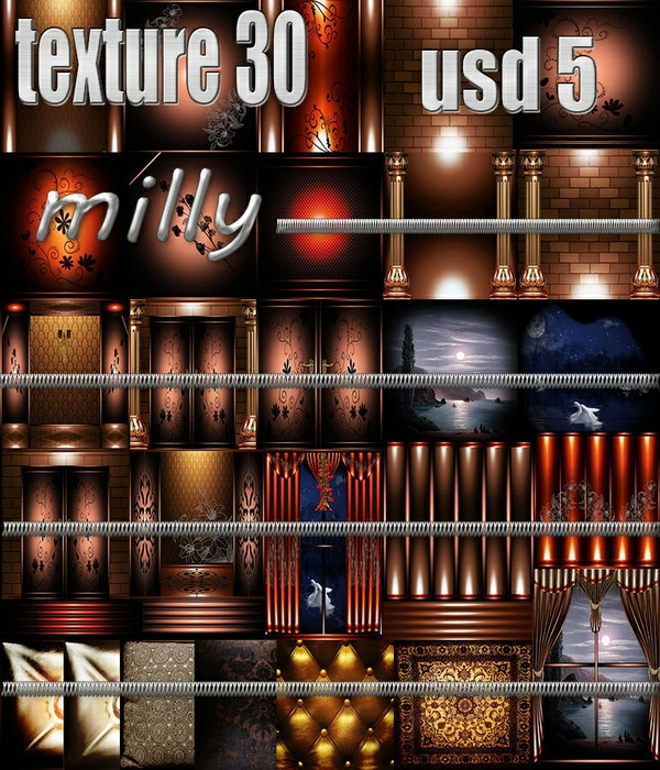 MILLY 30 TEXTURES 5.00 USD