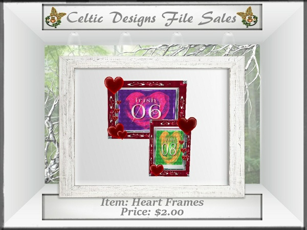 CD Heart Frames