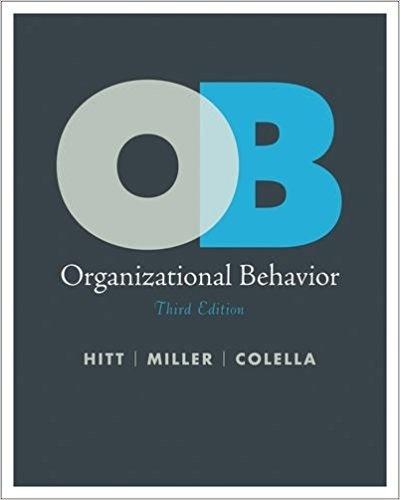 Organizational Behavior, 3rd Edition ( PDF , Instant download )