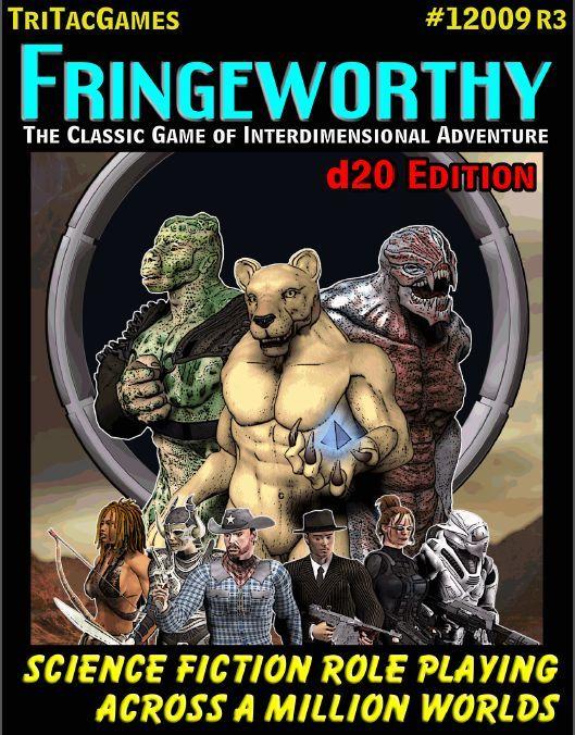 TTG#12009 Fringeworthy d20 Edition