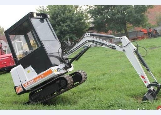 Bobcat X220 Hydraulic Excavator Service Repair Manual DOWNLOAD (S/N 508212001 & Above)