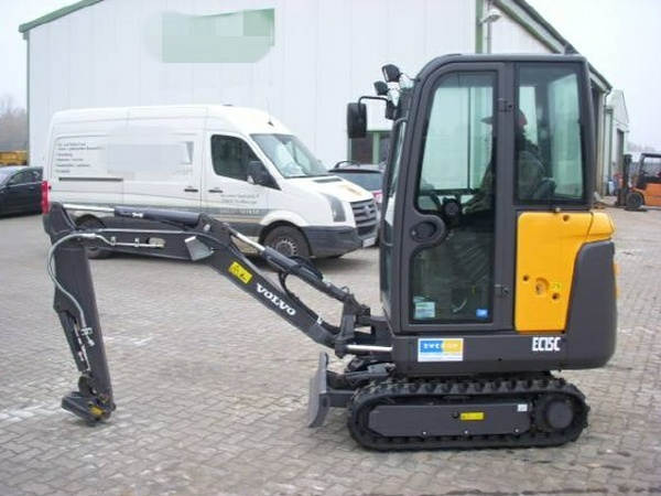 VOLVO EC15C COMPACT EXCAVATOR SERVICE REPAIR MANUAL - DOWNLOAD