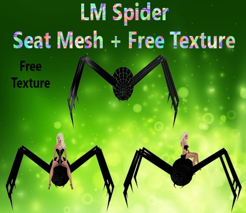Spider Chair Mesh & Free Texture Catty Only!!!