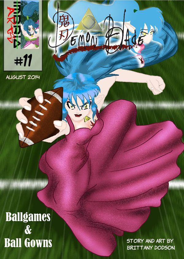 Demon Blade #11: Ballgames and Ball Gowns