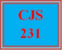 CJS 231 Week 2 Prison Term Policy Recommendation Proposal