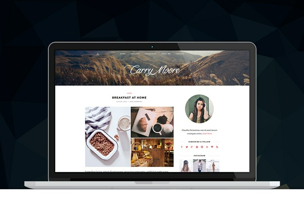 La Pura - WordPress Blog Theme