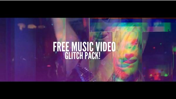 Music Video GLITCH Pack (Premiere Pro CC)